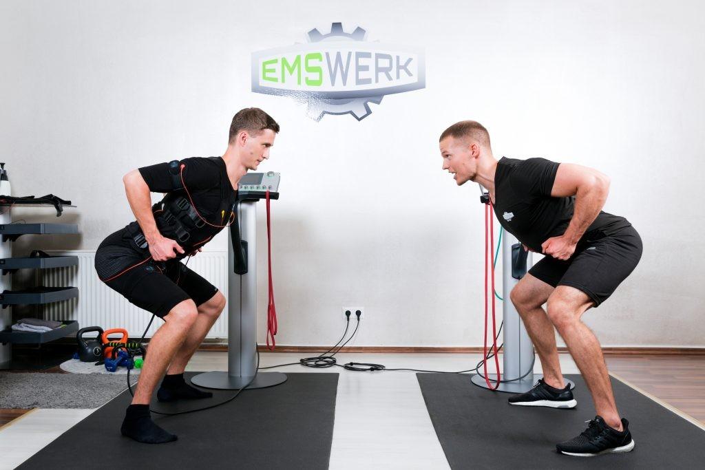 EMS immer inklusive Personal Trainer - EMS-Werk